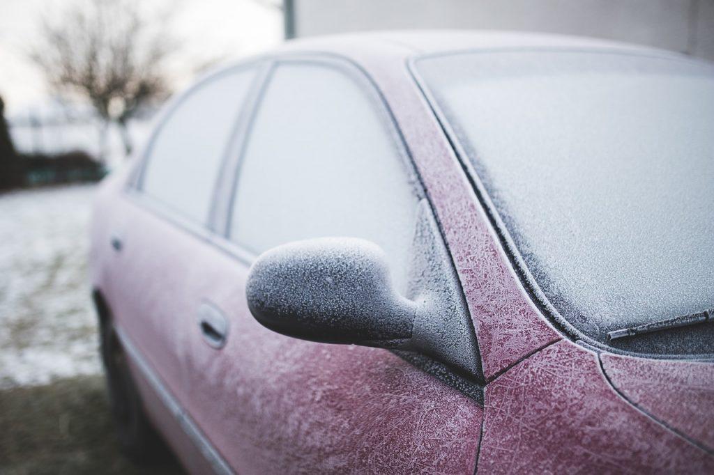 frozen car door