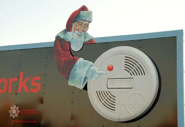 smoke alarm santa